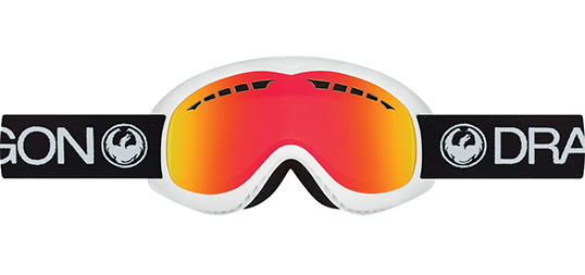 Dragon DX Inverse Red Ionized Snow Goggles