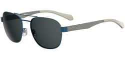 Hugo Boss Polarized Stainless Steel Aviator Sunglasses