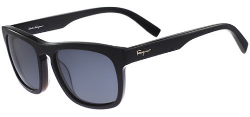 Salvatore Ferragamo Polarized Classic Square Men's Sunglasses