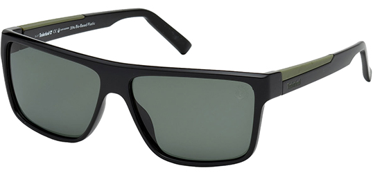Timberland Earthkeepers Polarized Classic Flat-Top Sunglasses