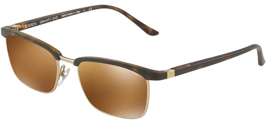 Starck Eyes Gravity Evo Men's Italian Handcrafted Sunglasses
