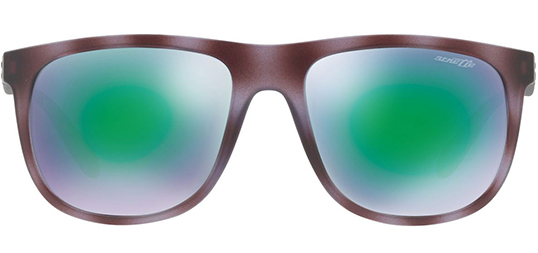a8f7318725 Arnette Crooked Grind w/ Light Green Flash Lens Sunglasses - Eyedictive