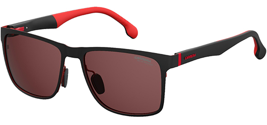 7d65a064c1 Carrera Polarized Red HD Stainless Steel Classic Sunglasses - Eyedictive