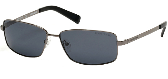 Kenneth Cole NY Polarized Techni-Cole Metal Classic Men's Sunglasses