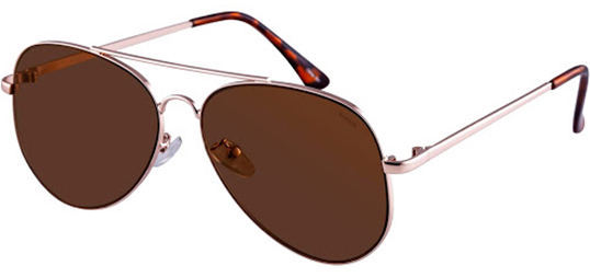 Eyedictive - Avail Kensie Carissa Shiny Metal Aviator Sunglasses @ just $10.00
