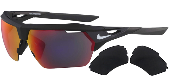 Nike Hyperforce M Semi-Rimless Sport Sunglasses w/ Bonus Lens (2 colors, EV1029)