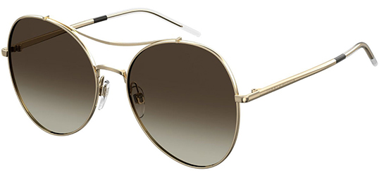 Tommy Hilfiger Gold-Tone Stainless Steel Women's Sunglasses