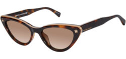 Deals on Rebecca Minkoff Brooke Dark Havana Cat Eye Womens Sunglasses