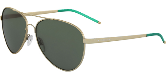 Cole Haan Zerogrand Flexible Bridge Aviator Sunglasses